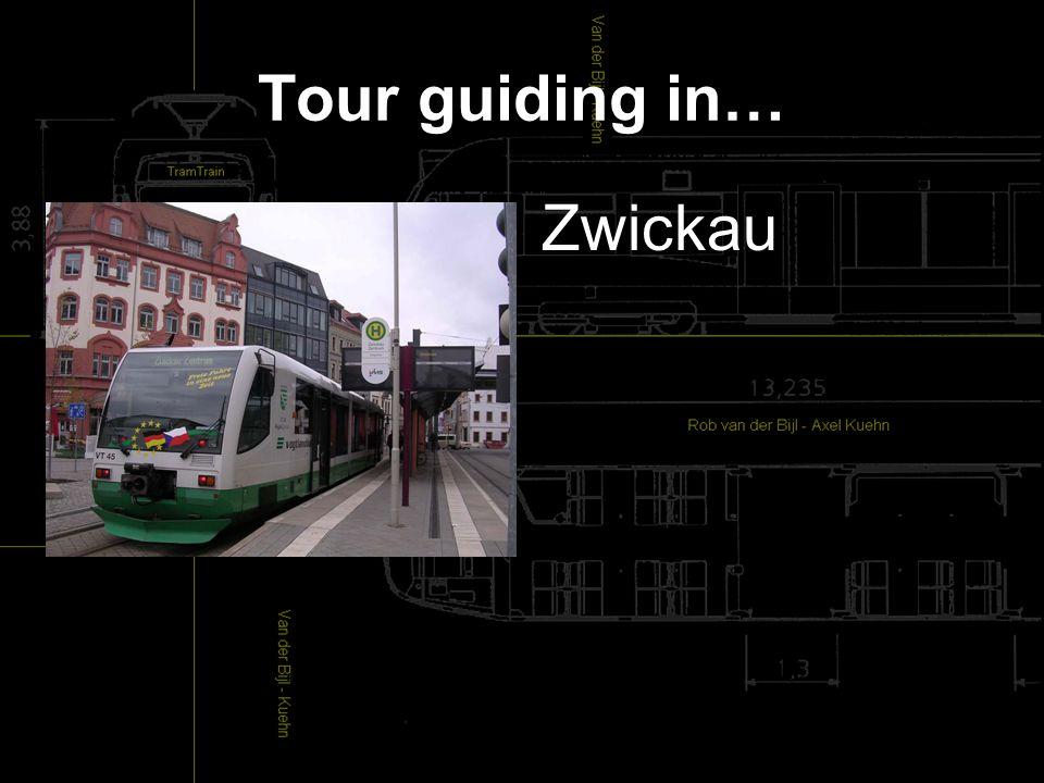 Tour guiding in… Zwickau