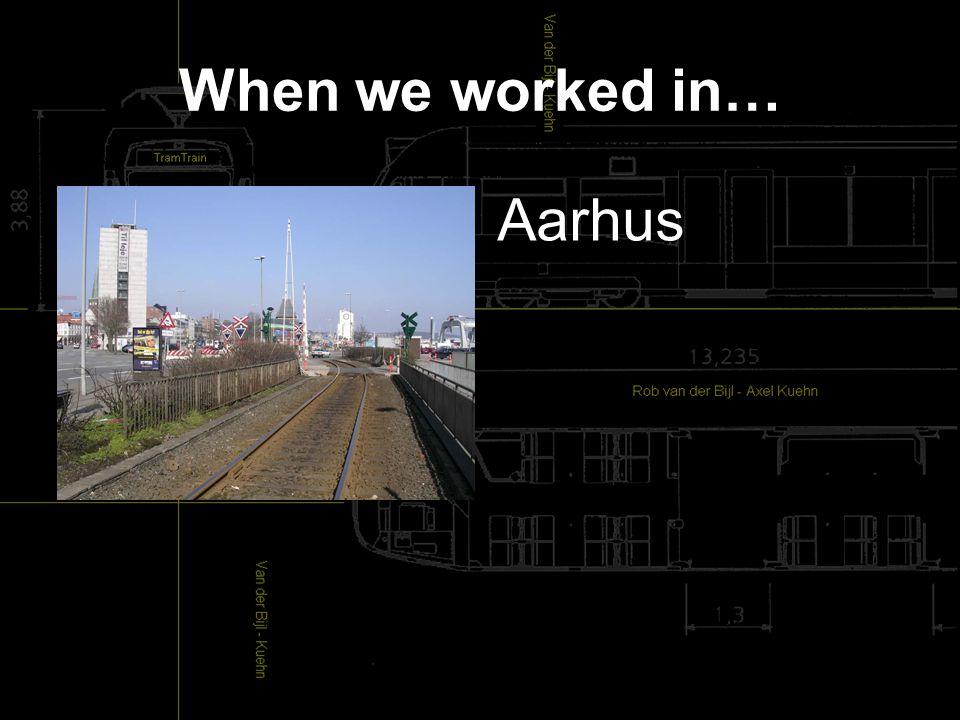When we worked in… Aarhus
