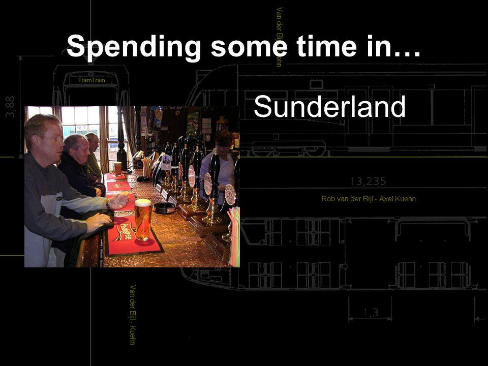 Spending some time in… Sunderland