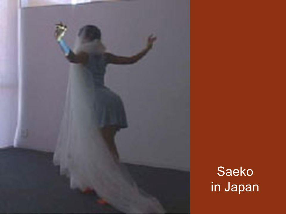 Saeko in Japan