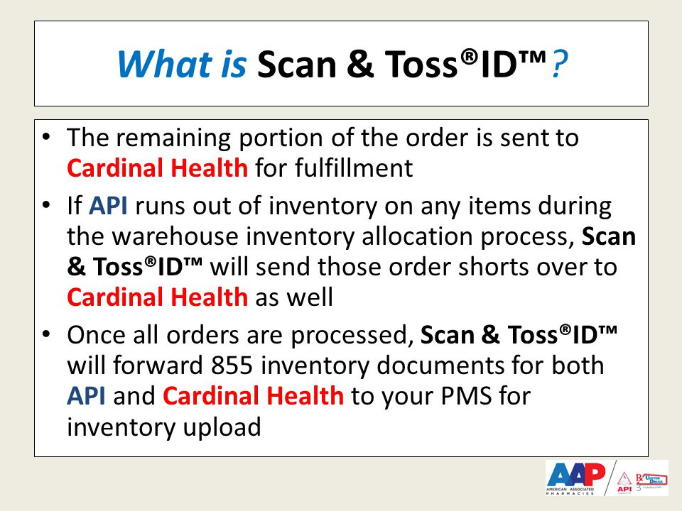 What is Scan & Toss®ID™.