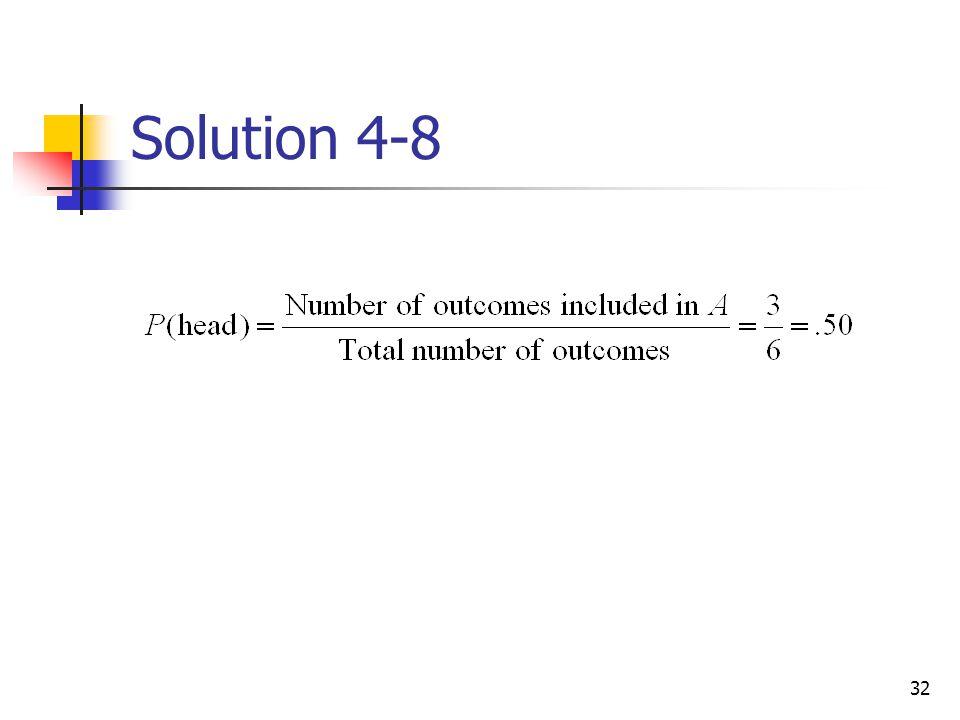 32 Solution 4-8