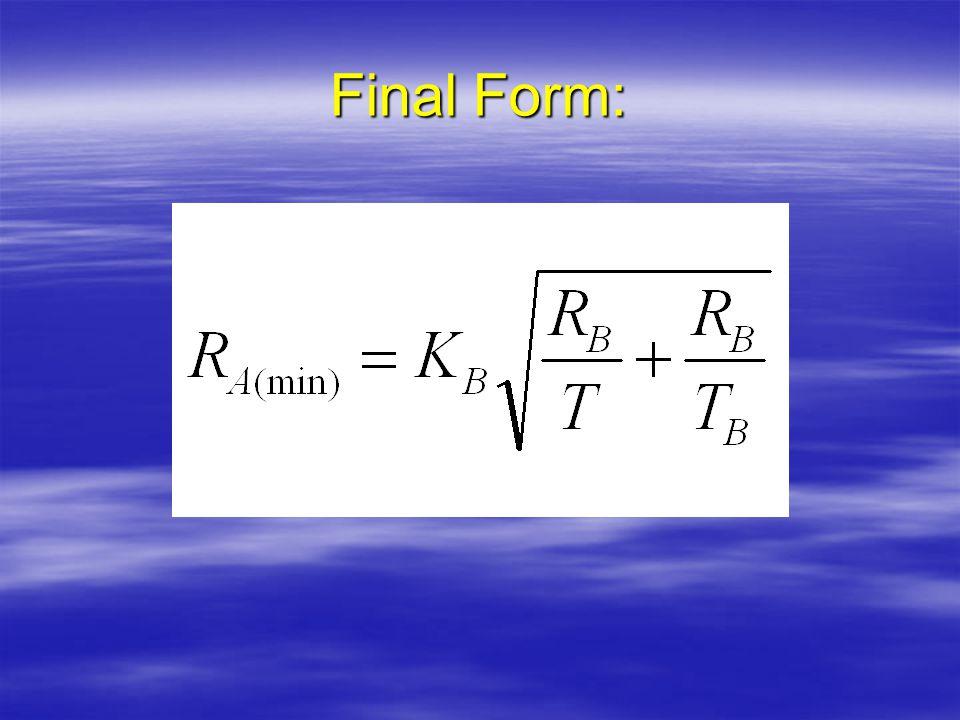 Final Form: