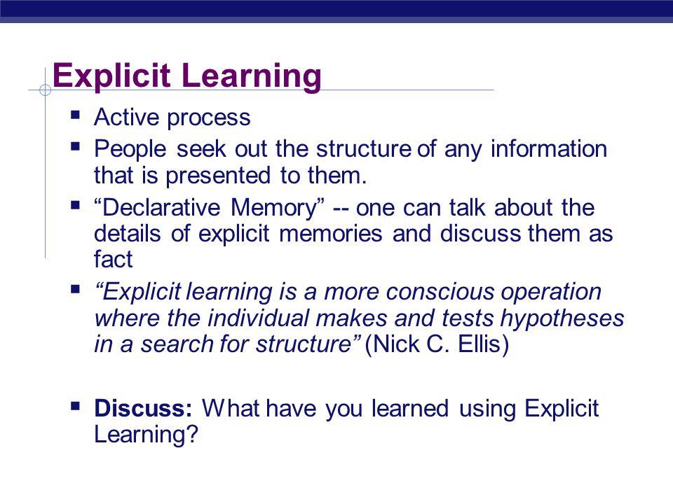 Implicit v.