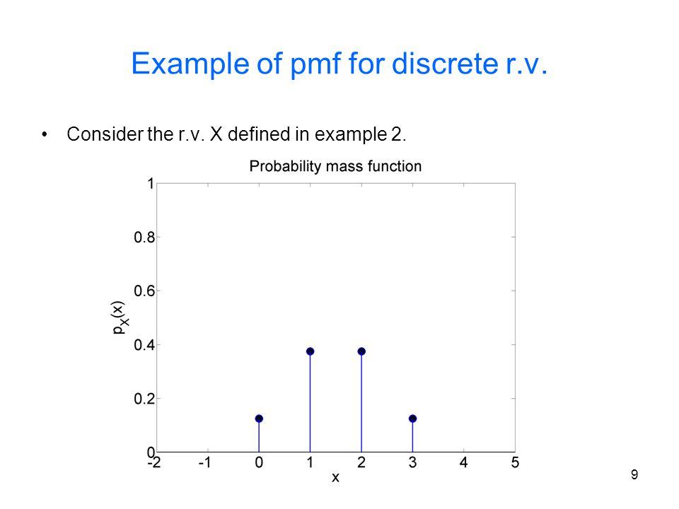 20 Poisson Random Variable A r.v.