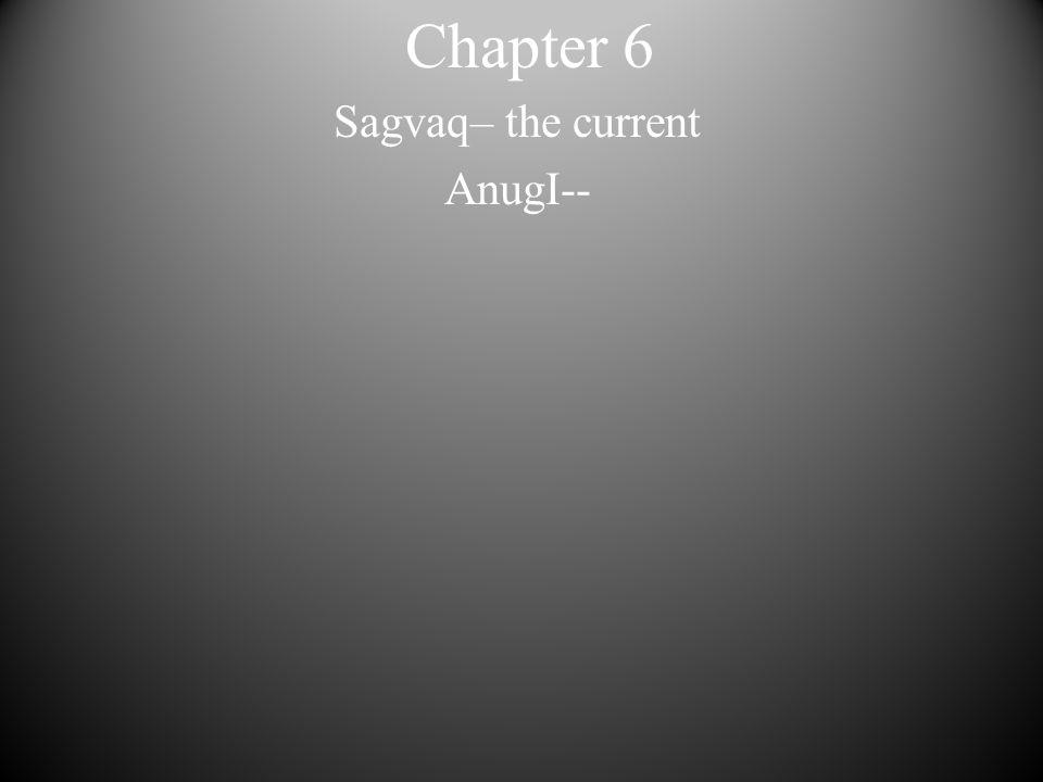 Chapter 6 Sagvaq– the current AnugI--