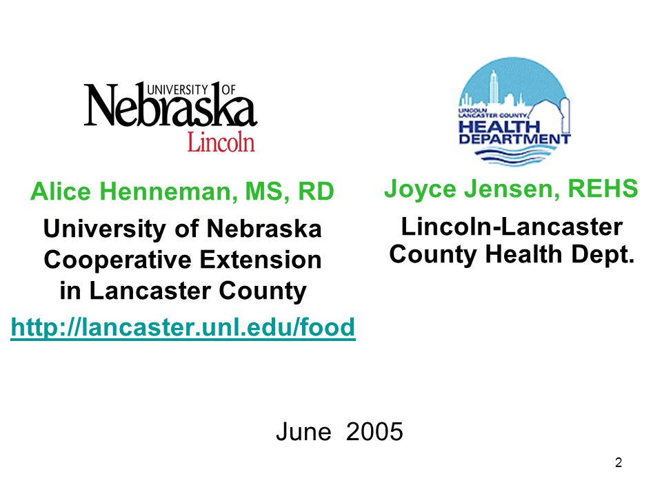3 Acknowledgments This slide set is based on information provided by: –United States Department of Agriculture –United States Department of Health & Human Services For more information, visit: –http://www.mypyramid.govhttp://www.mypyramid.gov –http://www.fsis.usda.govhttp://www.fsis.usda.gov –http://www.healthierus.gov/dietaryguidelineshttp://www.healthierus.gov/dietaryguidelines