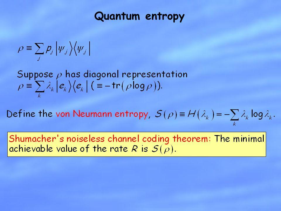 Quantum entropy