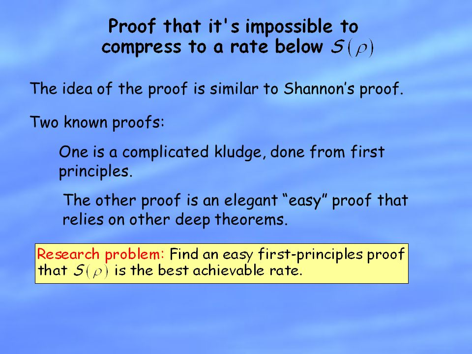 The idea of the proof is similar to Shannon's proof.