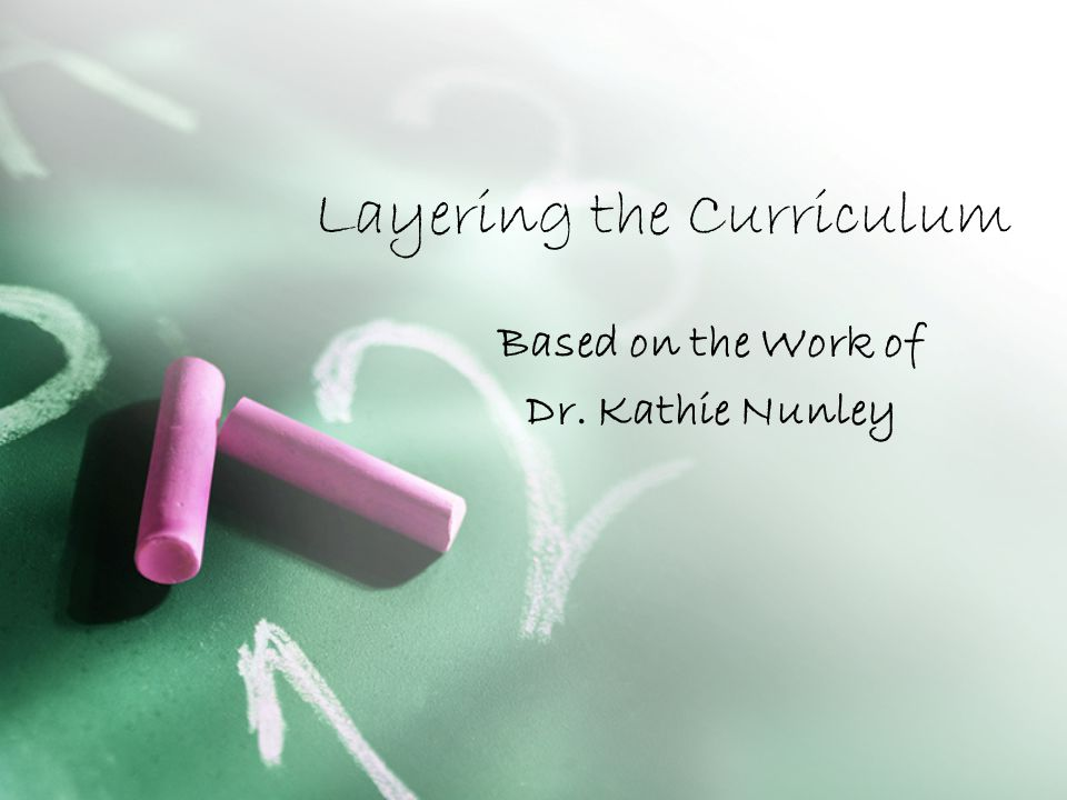 WHAT IS CURRICULUM LAYERING.