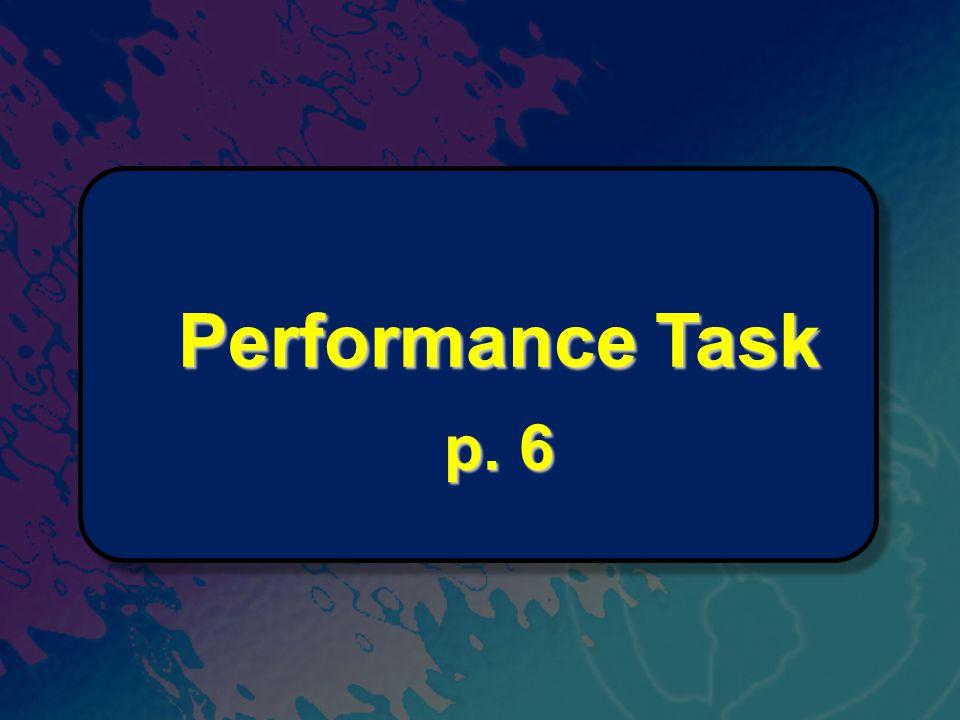 Performance Task p. 6