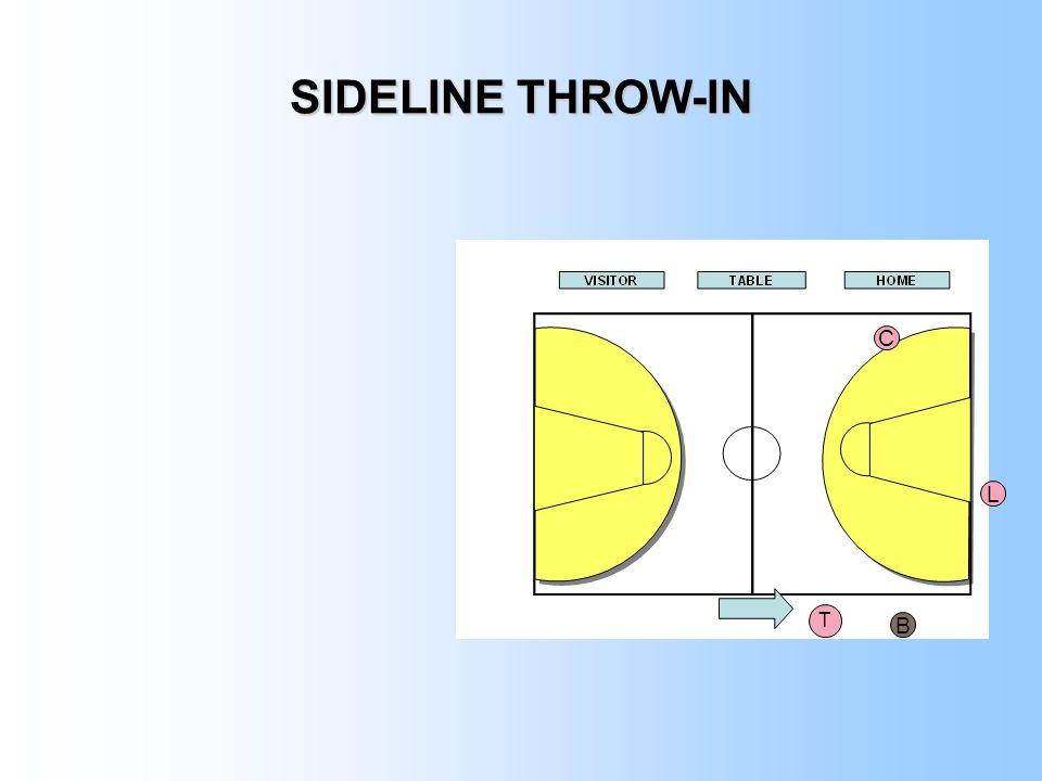 SIDELINE THROW-IN C L B T