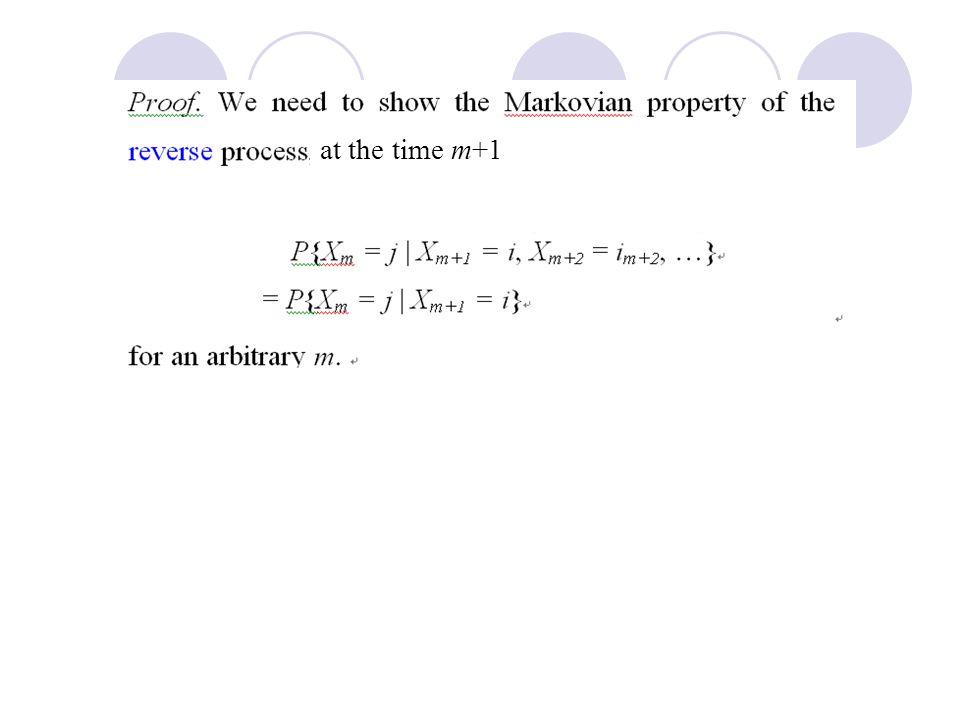 at the time m+1 Prof. Bob Li B, A}
