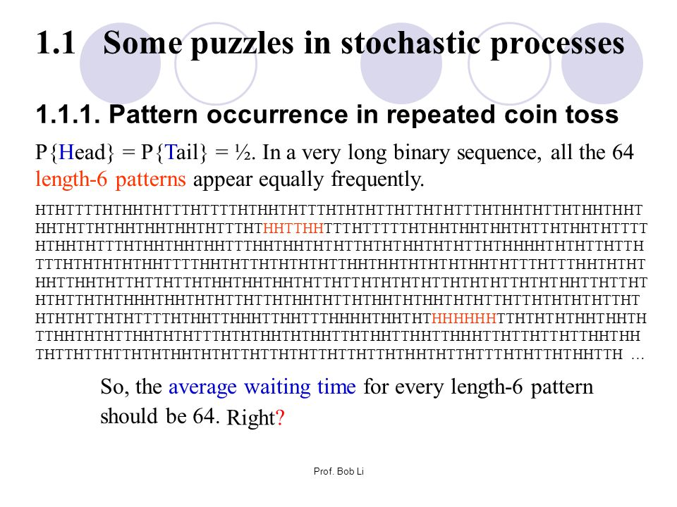 Efficiency of simplex algorithm in linear programming (cont'd) Let c = n/m.
