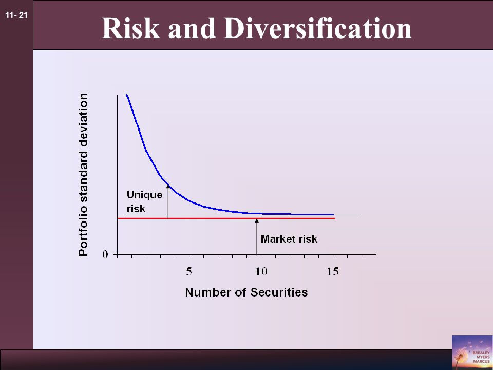 11- 21 Risk and Diversification