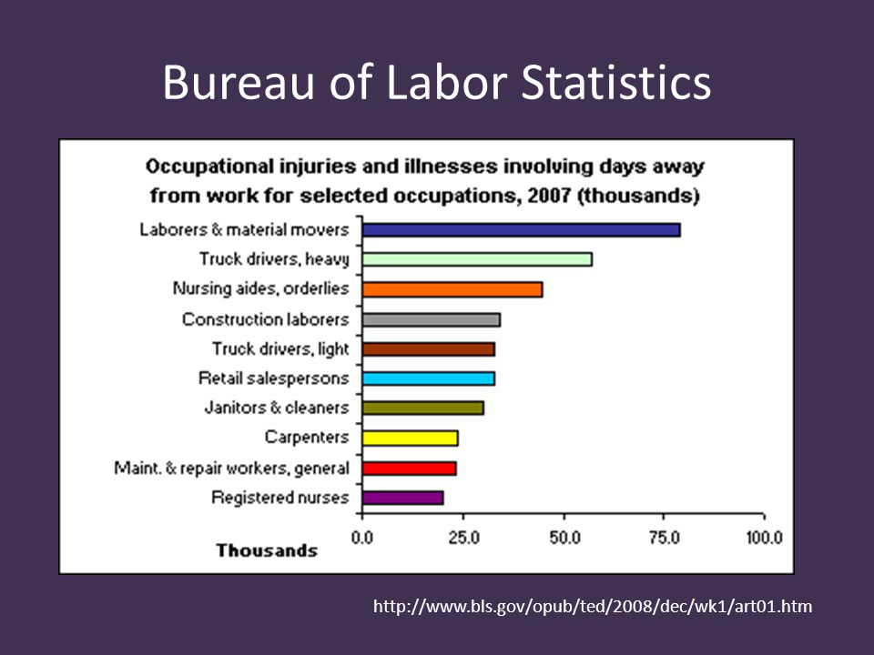 http://www.bls.gov/opub/ted/2008/dec/wk1/art01.htm Bureau of Labor Statistics