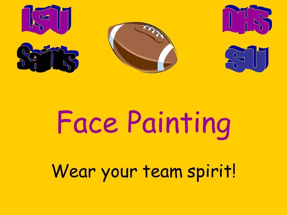 Free Shirt Day! Turn in 4 panther bucks to wear your favorite teams colors or jersey!