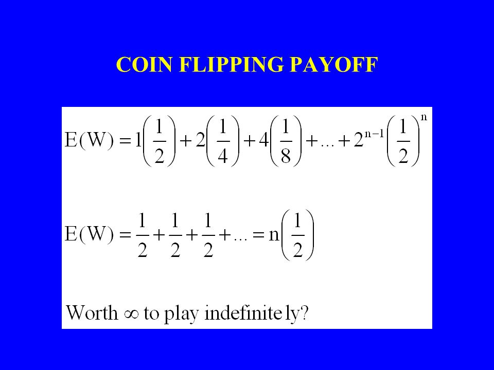 COIN FLIPPING PAYOFF