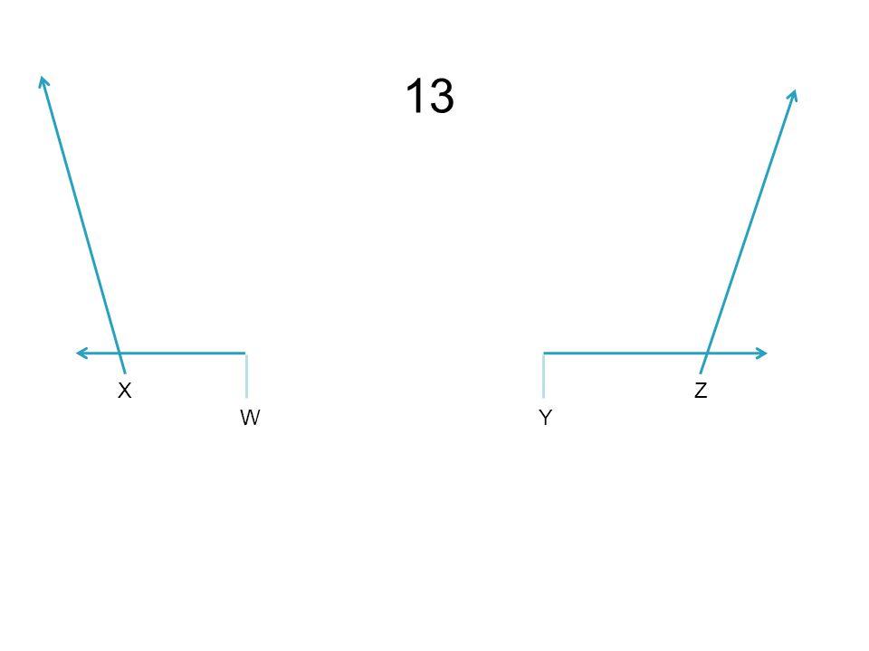 X WY Z 13