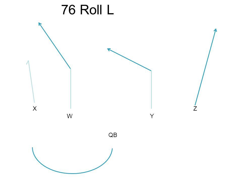 X WY Z 76 Roll L QB