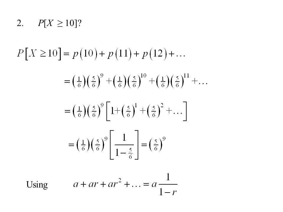 3. P[X is divisible by 2]?