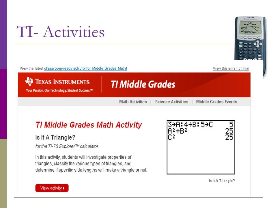 TI- Activities