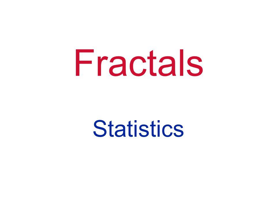 Fractals Statistics