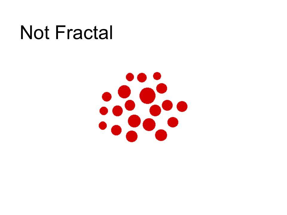 Not Fractal