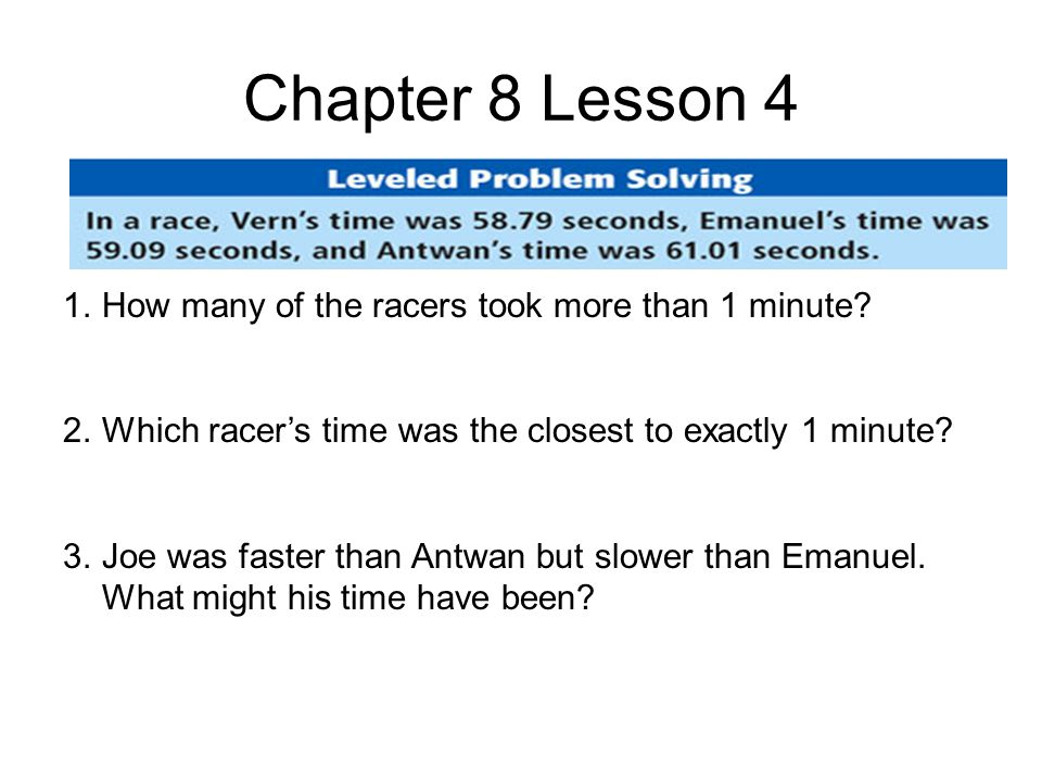 Chapter 10 Lesson 5 1.If you do the experiment 60 times, about how many times would you expect to toss a number less than 4.