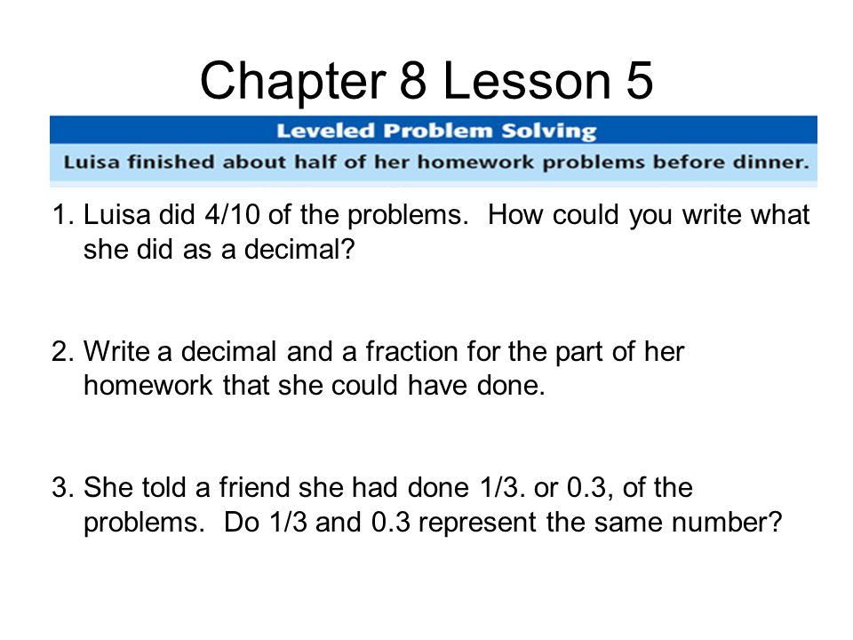 Chapter 9 Lesson 6 1.How many pints of ice cream should Melody buy to make one cake.