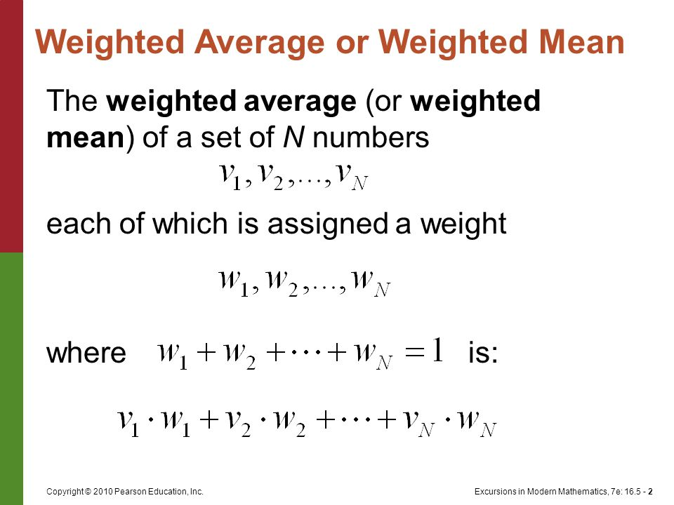 Excursions in Modern Mathematics, 7e: 16.5 - 13Copyright © 2010 Pearson Education, Inc.