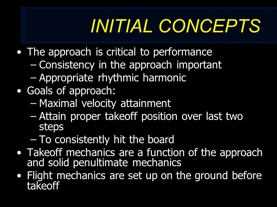 MULTI-JUMP PROGRESSION MJ routines must reflect the strength and age of the athlete.