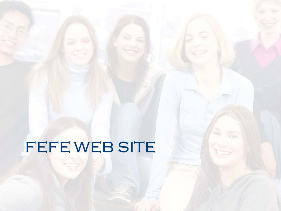 FEFE WEB SITE