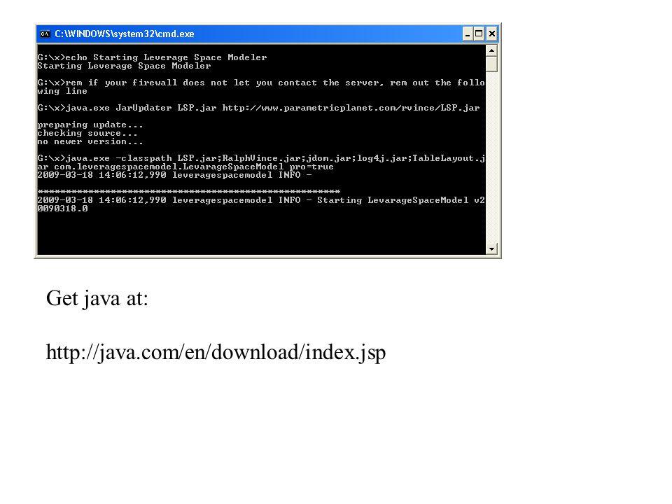 Get java at: http://java.com/en/download/index.jsp