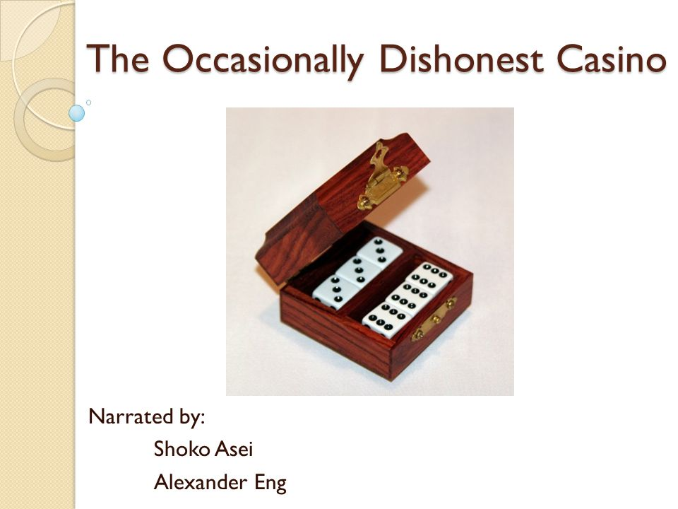 The Occasionally Dishonest Casino Narrated by: Shoko Asei Alexander Eng