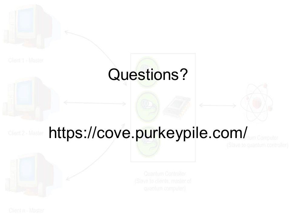 Questions? https://cove.purkeypile.com/