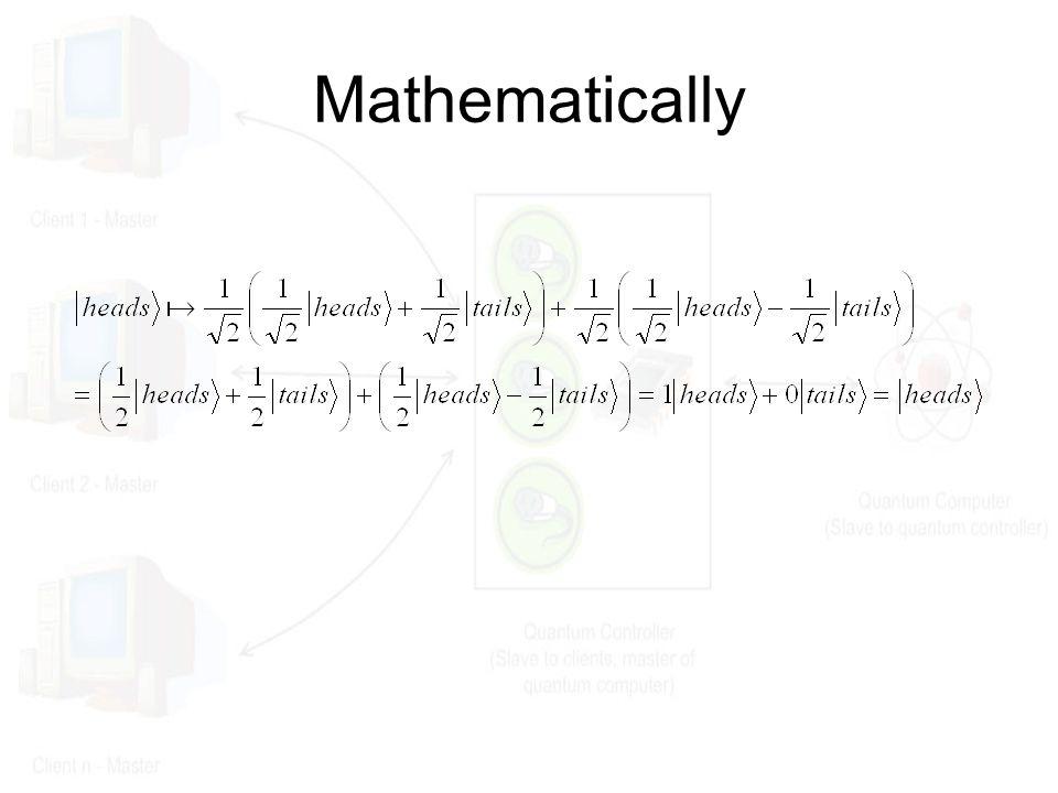 Mathematically