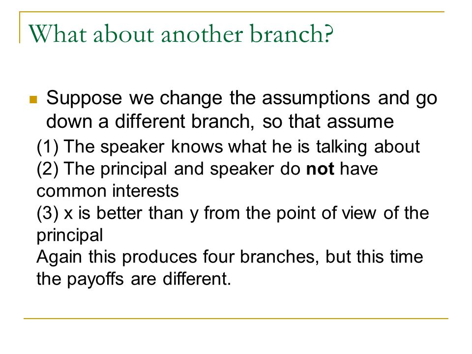 What about another branch.