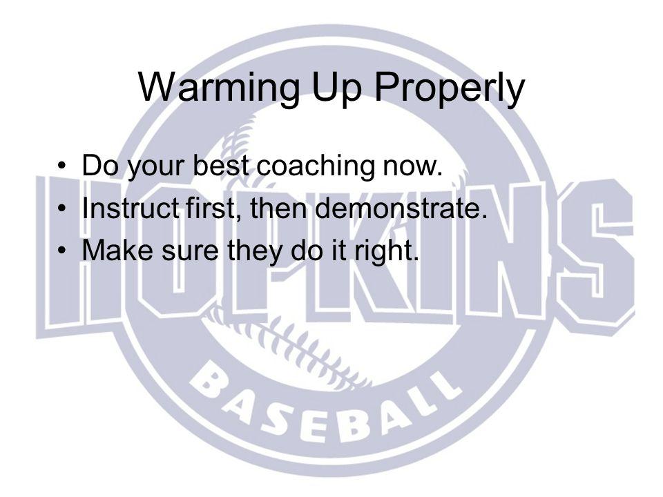 2014 Hopkins Baseball Youth Coaches Clinic Welcome.