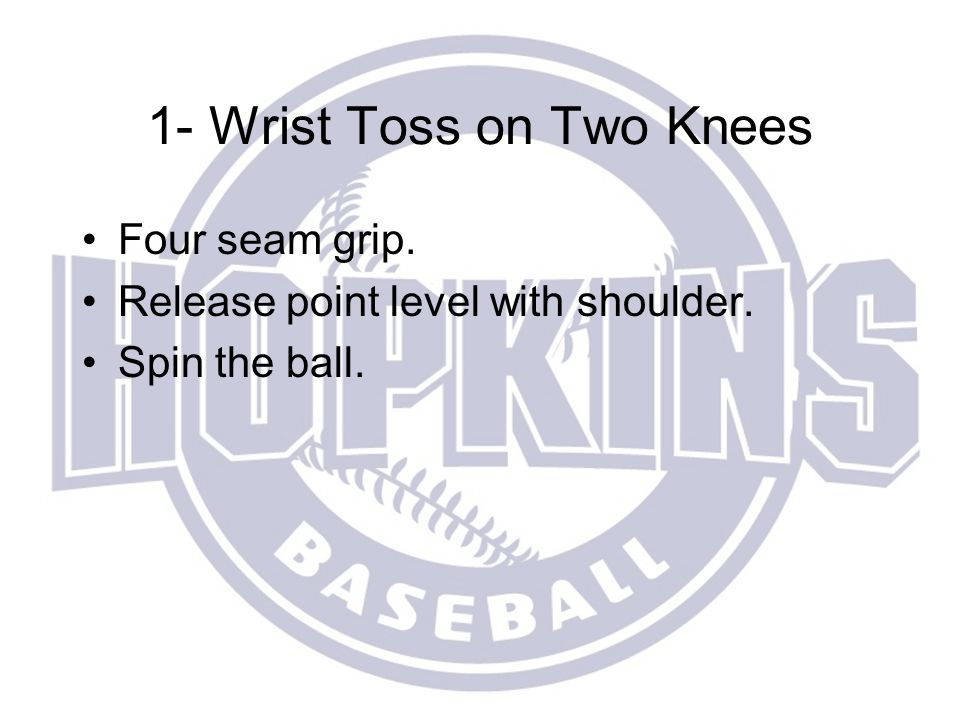 Tonight's Schedule 6:00-7:00: Proper warm-up and cool-down for the baseball player.