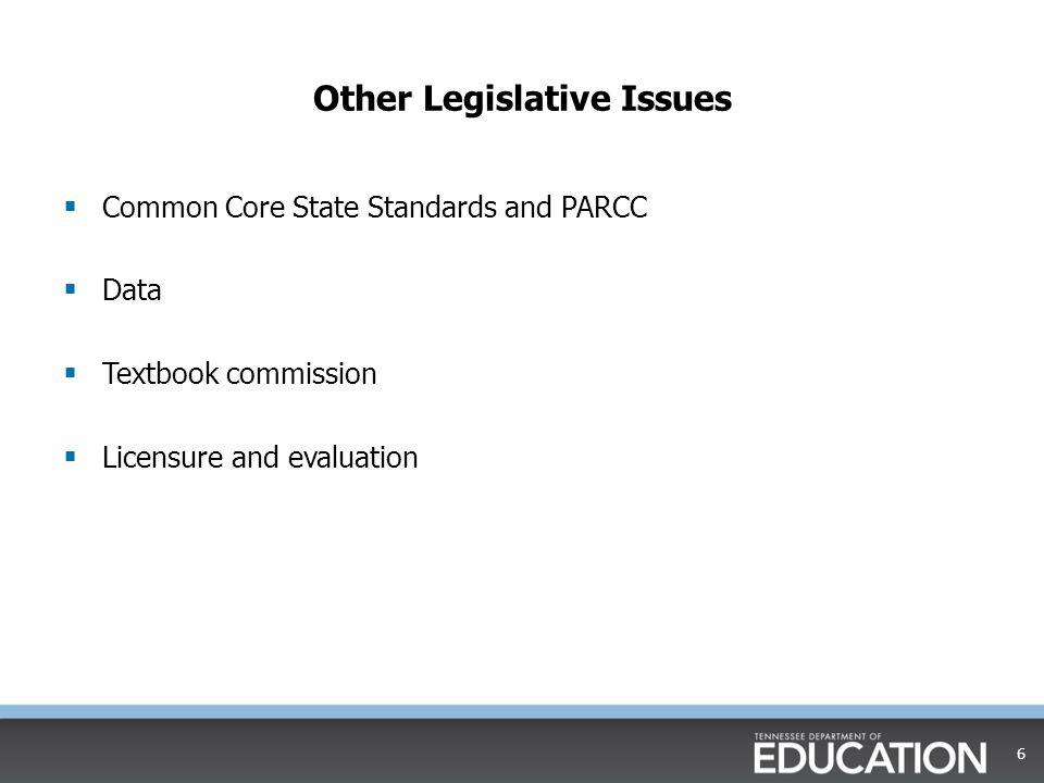 Additional Major Issues  Higher education initiative  2013-14 focus and accountability  2014-15 accountability 7