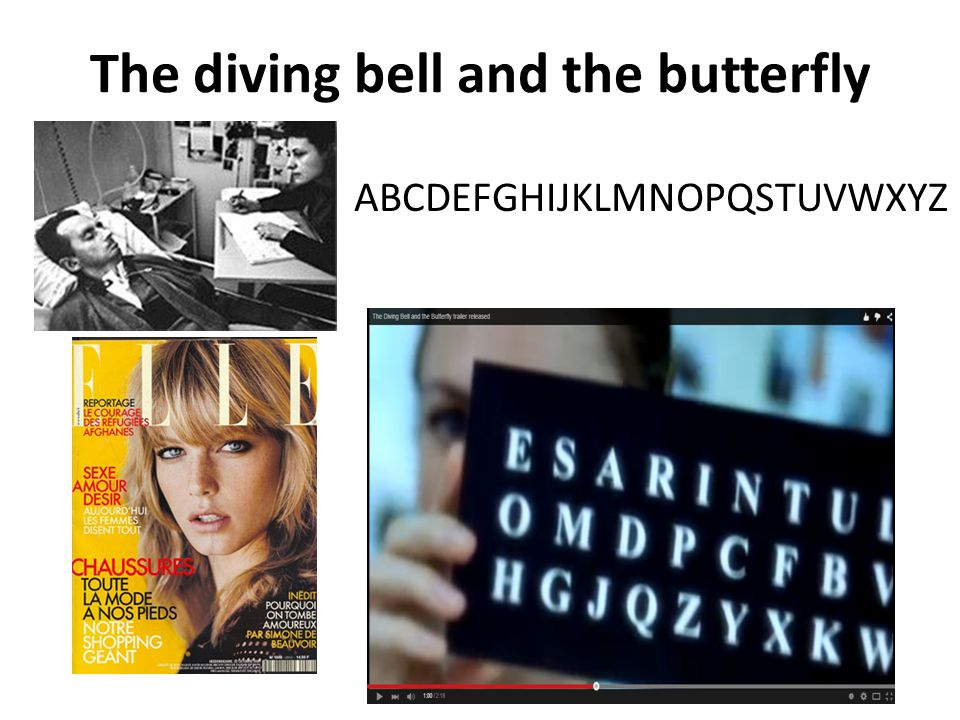 The diving bell and the butterfly ABCDEFGHIJKLMNOPQSTUVWXYZ