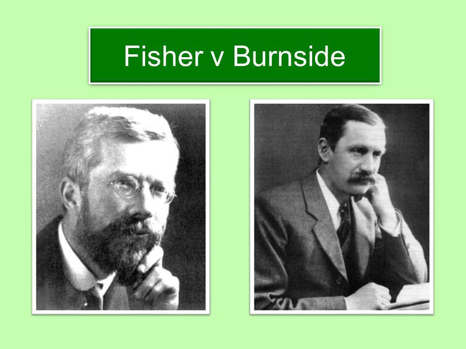 Fisher v Burnside