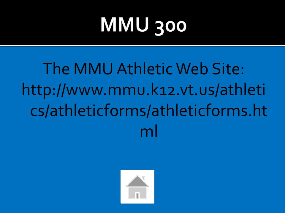 Where can you find Athletic Forms and the MMU Co-Curricular Policies and Procedures For The Student Participant and Their Parent?
