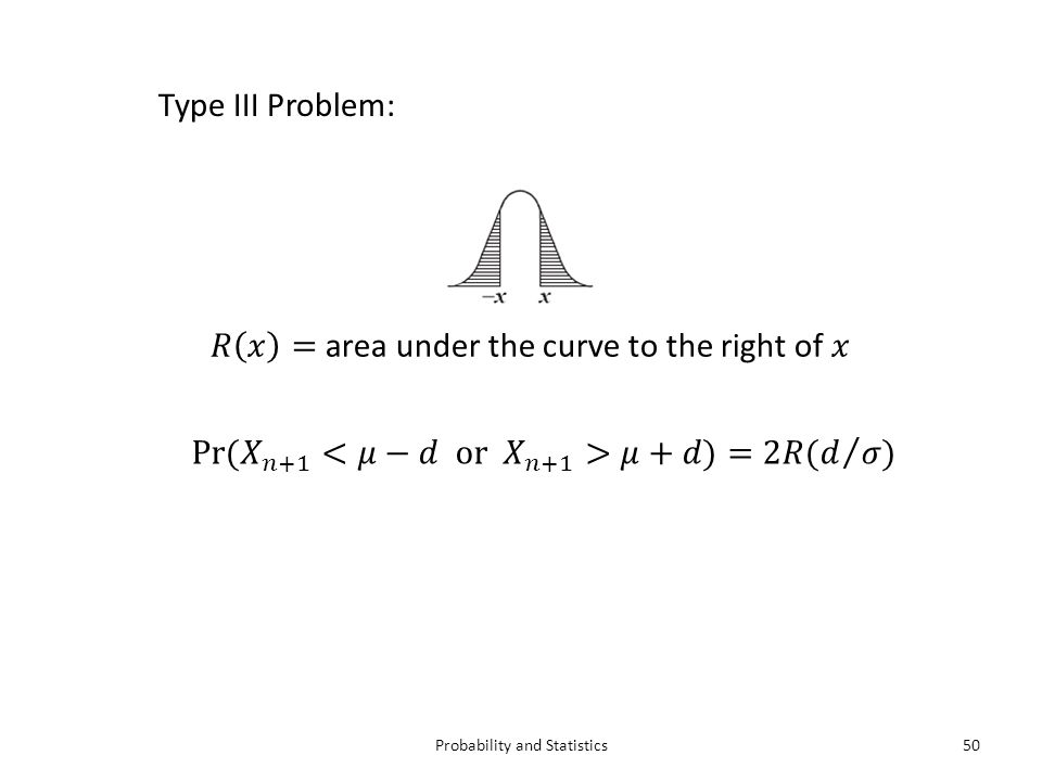 Probability and Statistics50 Type III Problem: