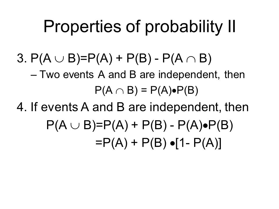 Conditional Probability Conditional probability of B given A: P(B  A)= P(A  B)/P(A).