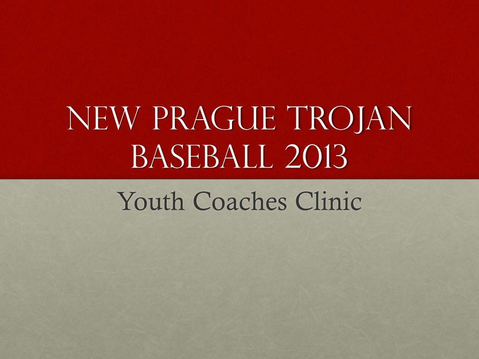 New Prague Trojan Baseball 2013 Youth Coaches Clinic