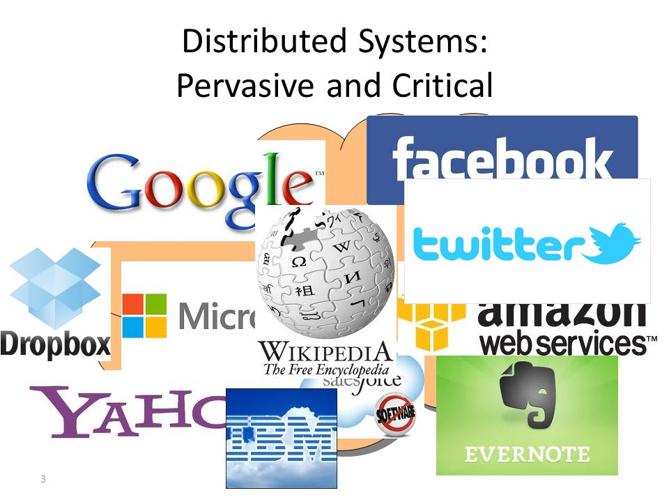 Distributed Systems: Pervasive and Critical 3