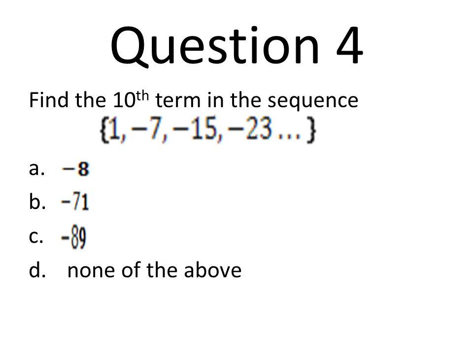 Question 15 A)f(a) = 12a - 5.5 B)f(a) = 18a - 13.5 C)f(a) = 18a + 13.5 D)