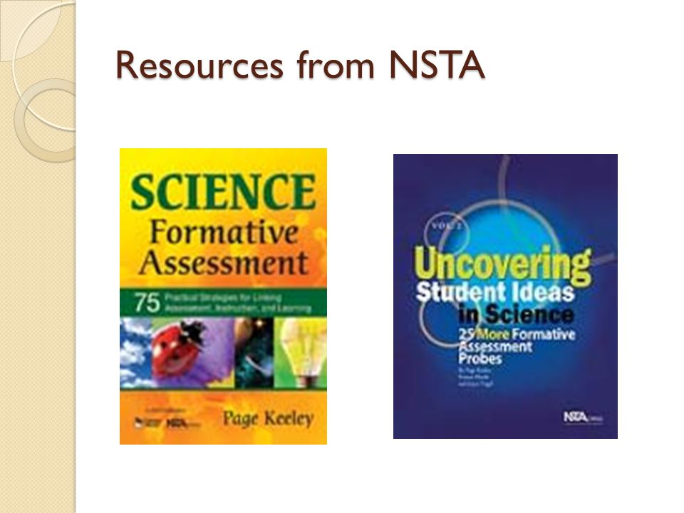 Resources from NSTA